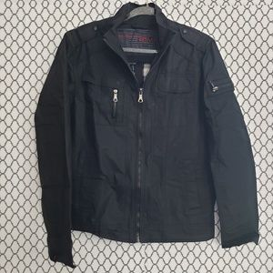 21 Men Black Jacket Medium
